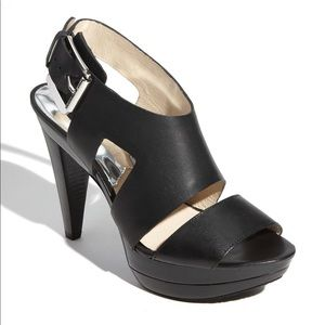 Michael Kors Carla leather sandal